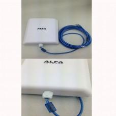 Adaptor Wifi Wireless Alfa Panel 5800mW 58 dBi 5m Cablu