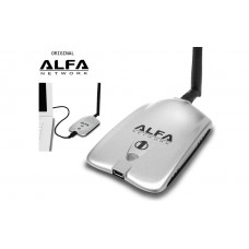 Adaptor Wifi Wireless Alfa 1W Antena 5dbi